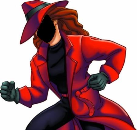 Carmen Sandiego - FACEinHOLE